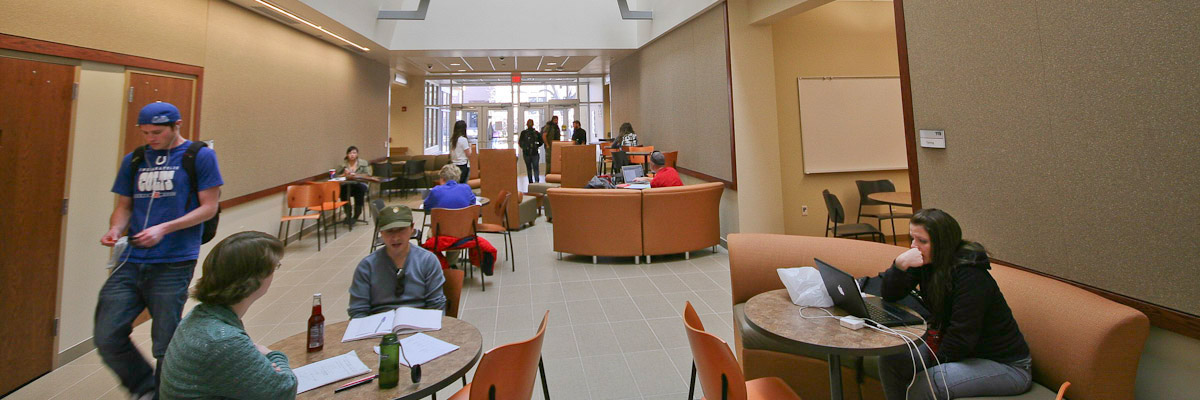 Student commons area
